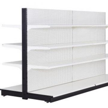 Grocery Store Metal Wood Supermarket Gondola Shelving